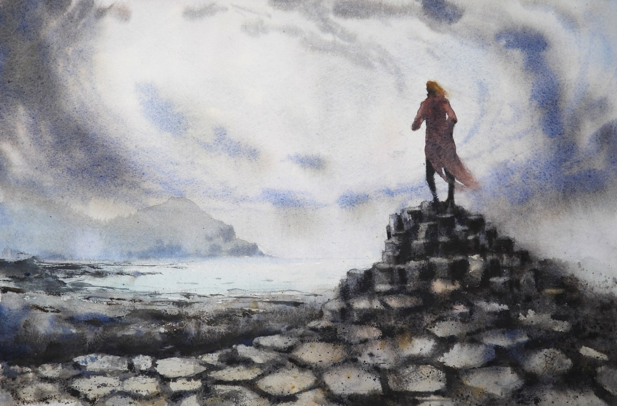 The Giant's Causeway by David Meldrum
