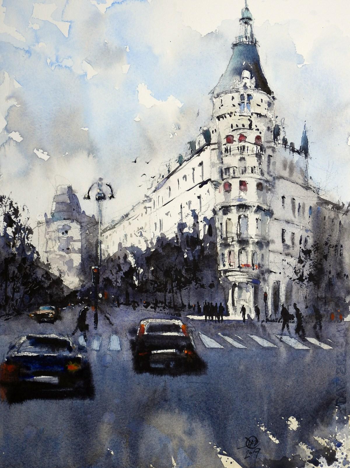 Birger Jarlsgatan by Davdi Meldrum