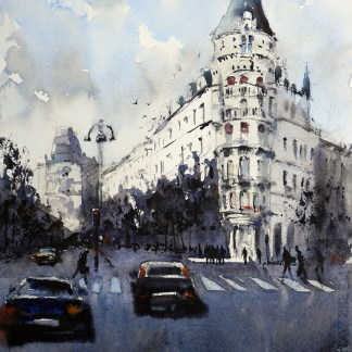 Birger Jarlsgatan by Davdi Meldrum