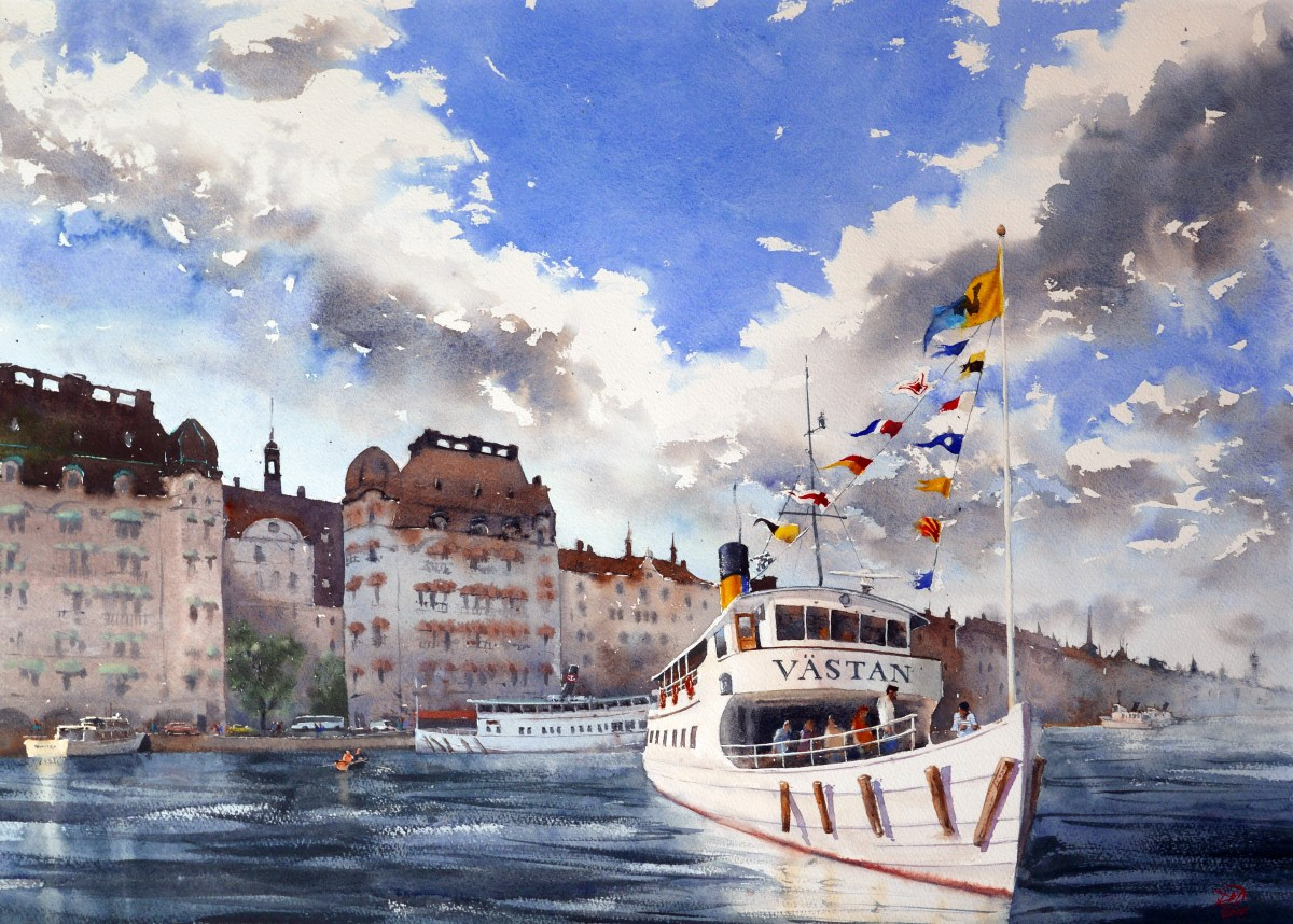 National Watercolour Exhibition – Edsvik