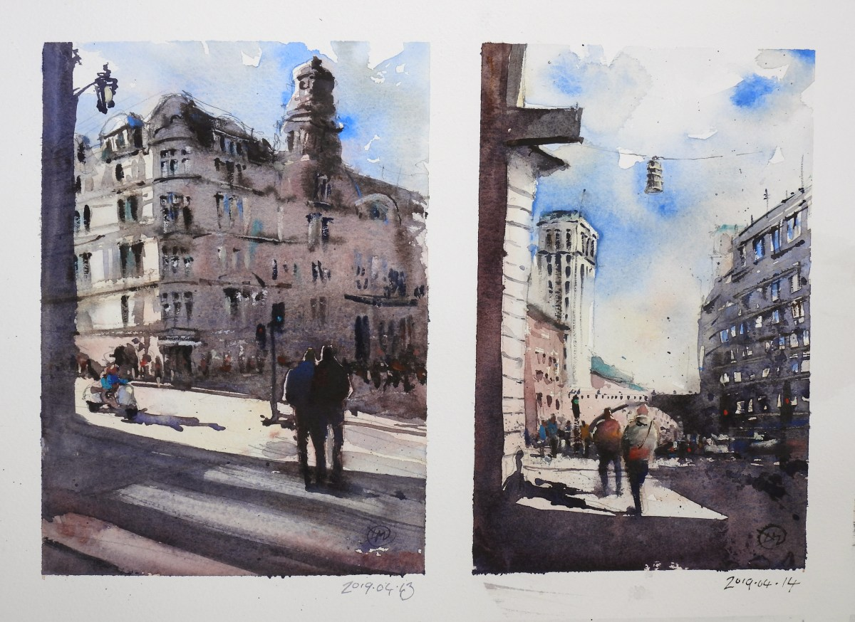 Sketches of Stockholm