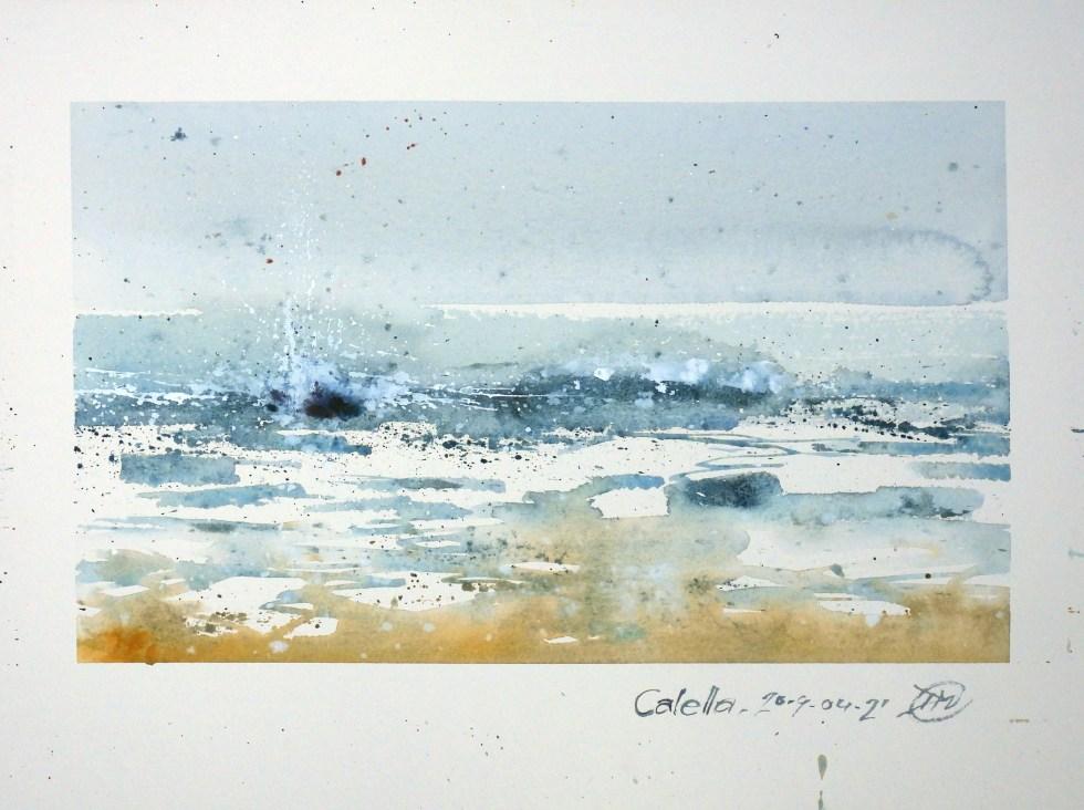 Waves in Calella