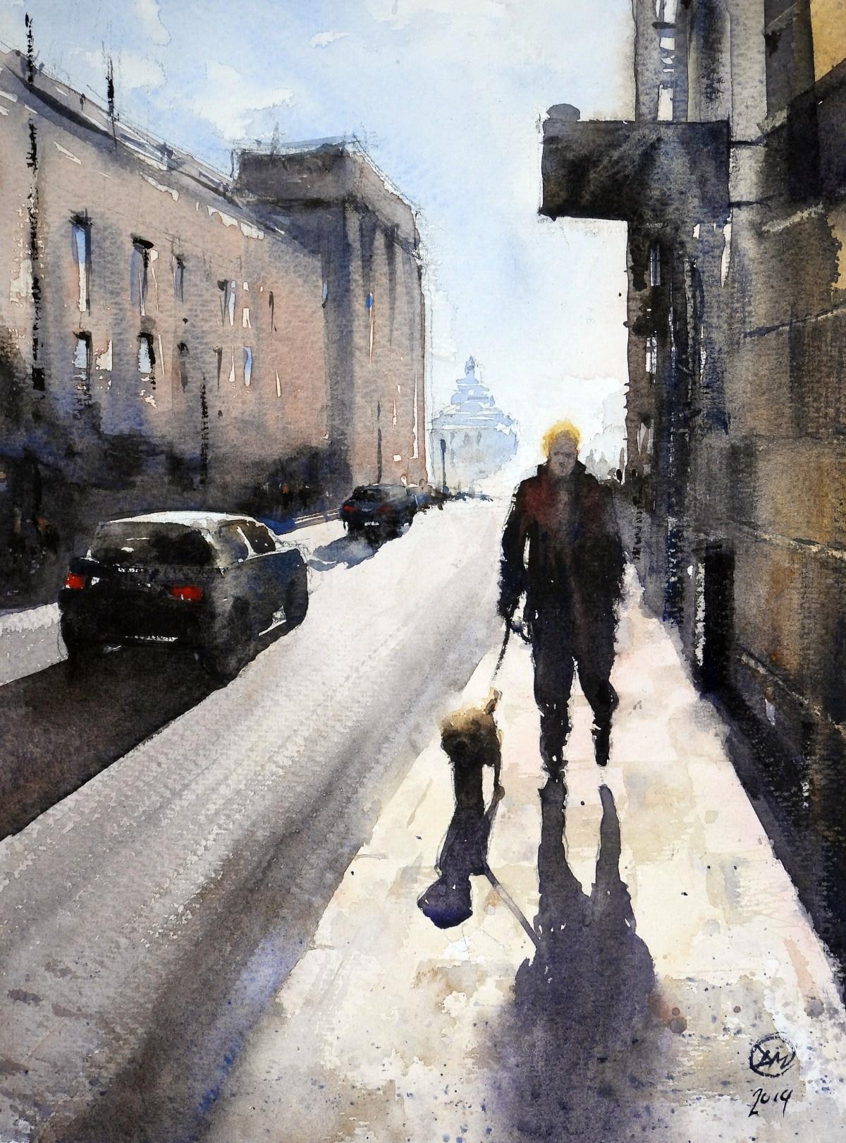 Walking on St Eriksgatan