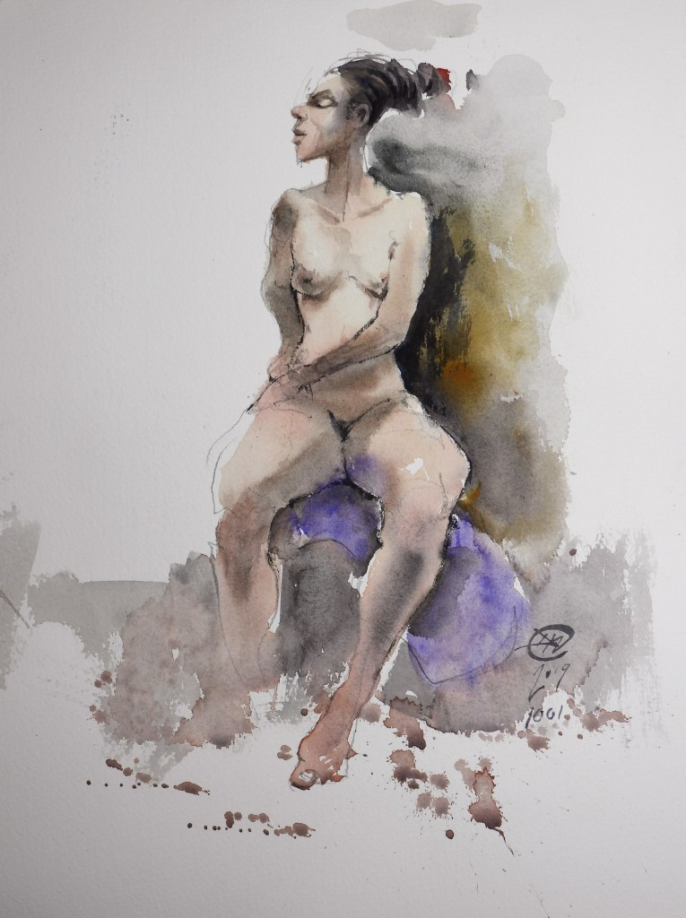 Life drawing by Meldrum #2
