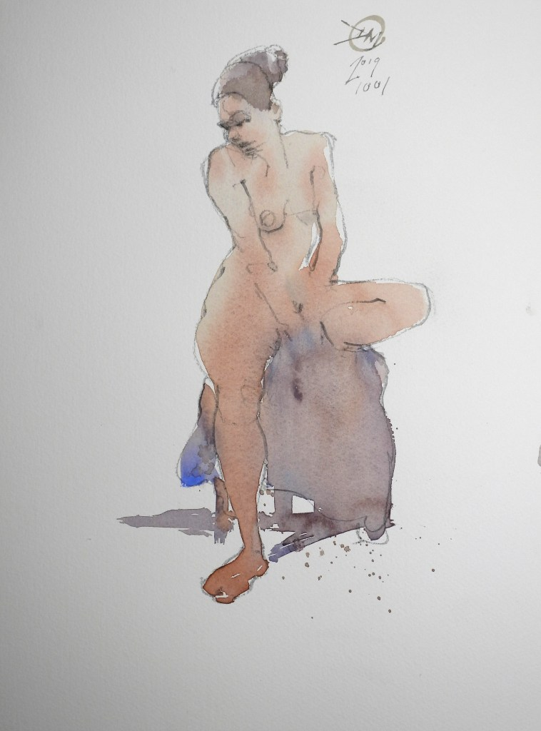 Life drawing by Meldrum #3