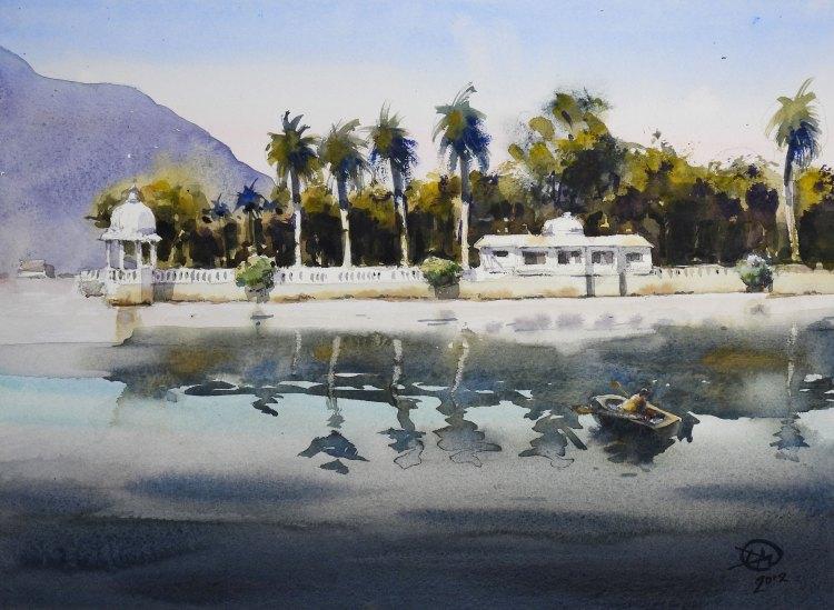 Nehru Garden in the afternoon