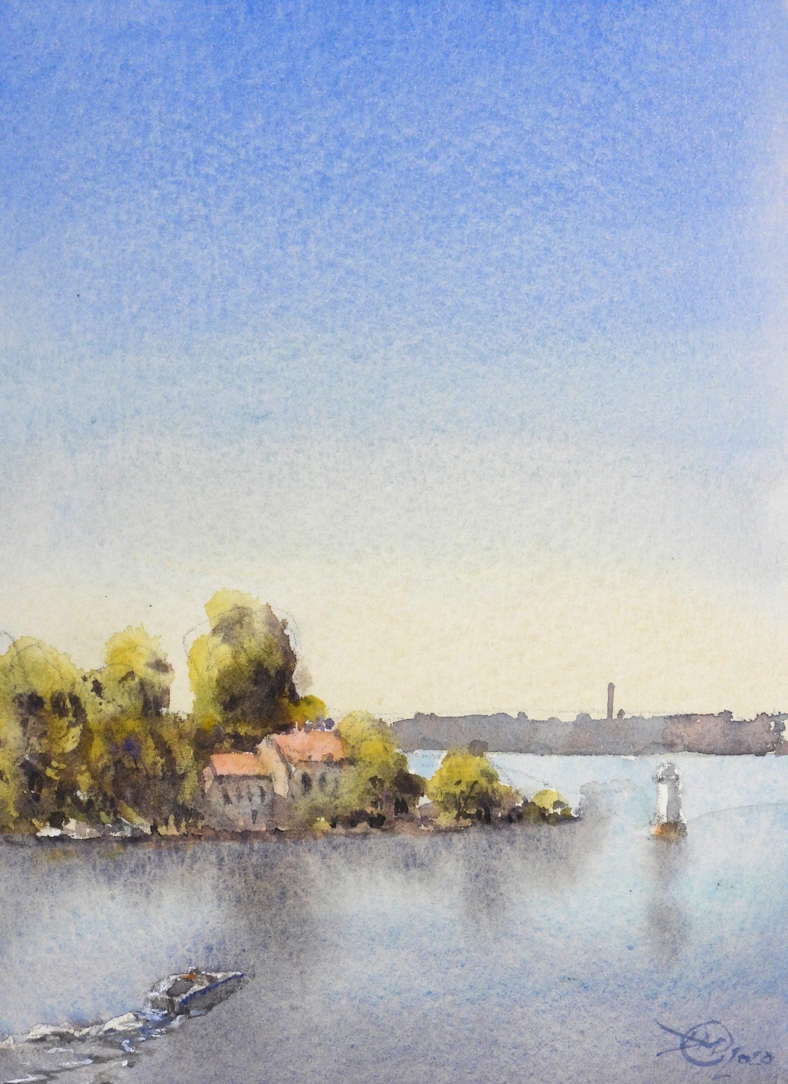 View from Kvarnholmen