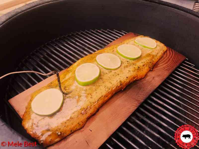 Warmgeräucherten Lachs