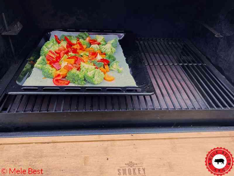 Kabeljau mit gegrilltem Gemüse