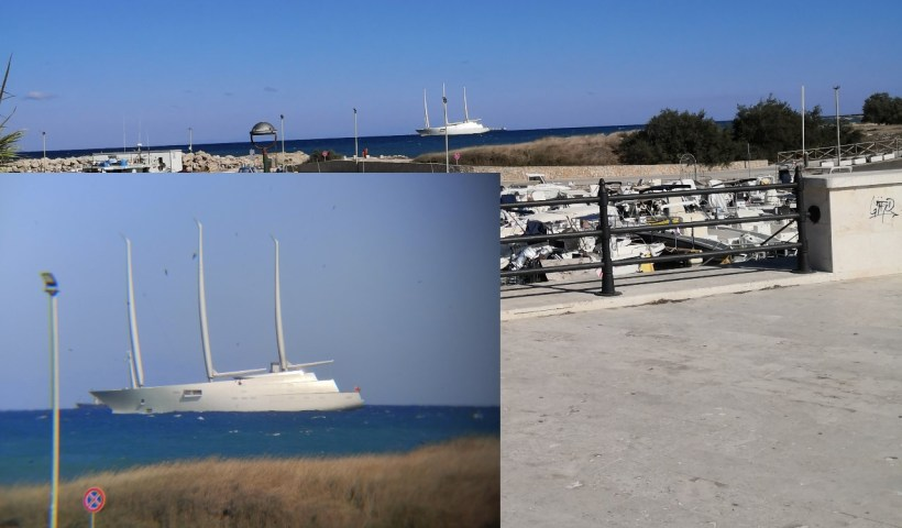 superyacht A San Foca