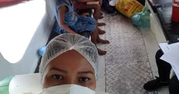 Ação de imunização contra influenza (gripe) na zona rural