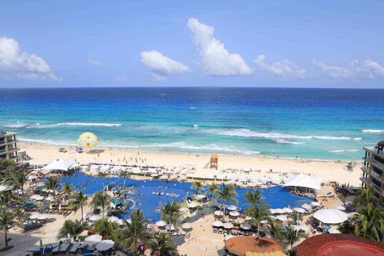 furacoes no caribe - cancun