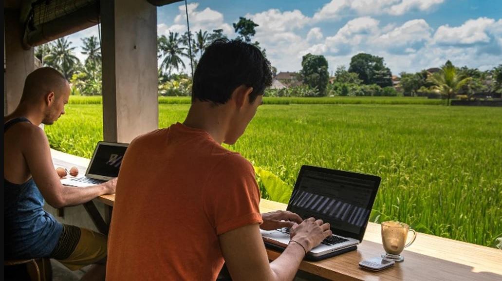 Bali para nômades digitais, Indonésia