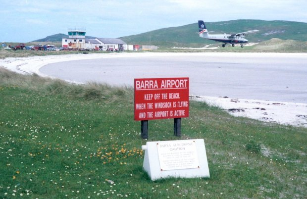 aeroporto barra escoria