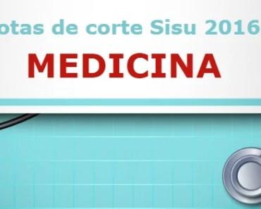 Notas de corte Medicina