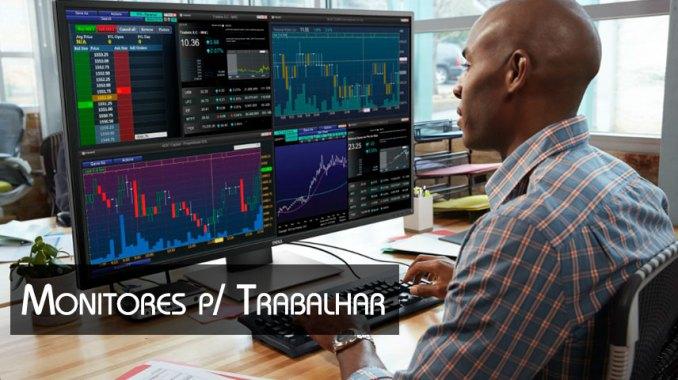 monitores para trabalhar