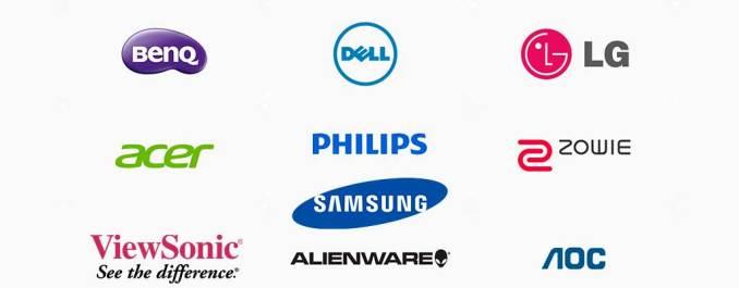 marcas populares de monitor