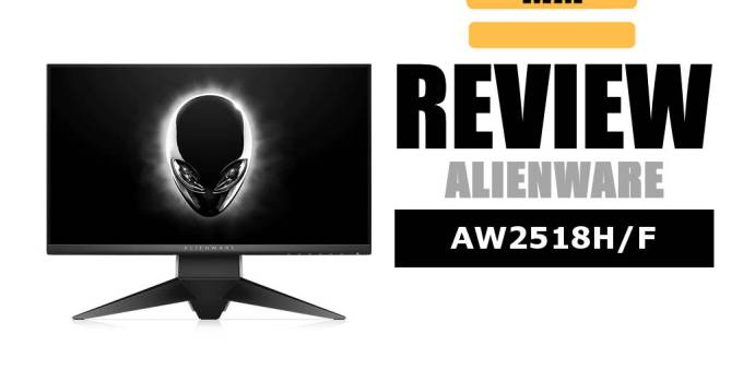 Alienware AW2518H review