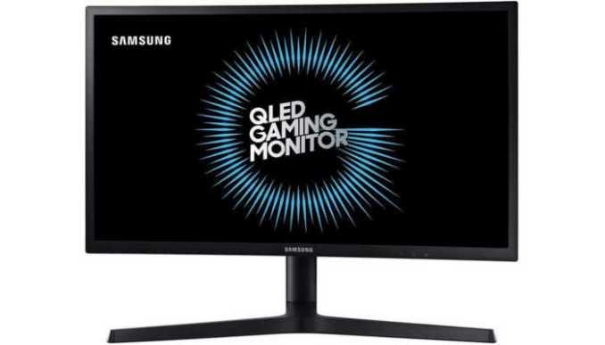 monitor Samsung LC24FG73FQLXZD curvo