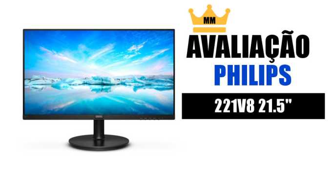 avaliacao philips 221v8 monitor