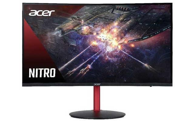 Monitor curvo Acer Nitro XZ242Q