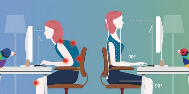 Ergonomia ao escolher um monitor para computador