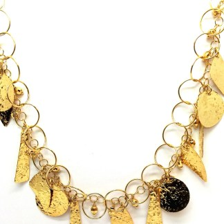 collana donna oro