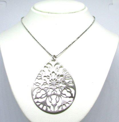 collana donna argento borgunto goccia