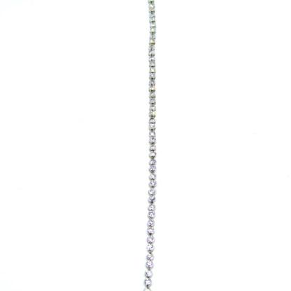 bracciale donna argento tennis zirconi