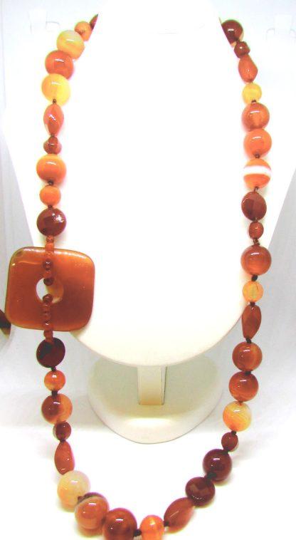 collana,argento,donna,pietre,dure,corniola,multicolor,argento,produzione,gioielli