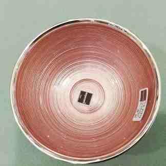 Piatto in vetro e argento Sinfonia Argenesi 0.01973