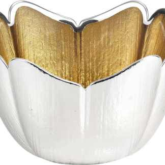 Piatto  vetro argento   Argenesi 0.02259