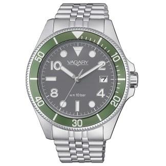 Orologio uomo acciaio acciaio  Aqua 99th Vagary VD5-015-61