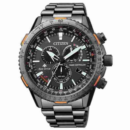 Orologio uomo Citizen Crono Pilot Acciaio CB5007-51H