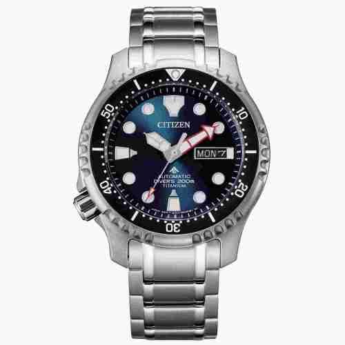 Orologio uomo Citizen Promaster Diver's Automatic 200 mt Super Titanio NY0100-50M