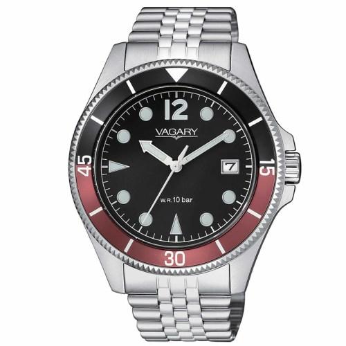 Orologio uomo Vagary Aqua 39 Acciaio VD5-015-59