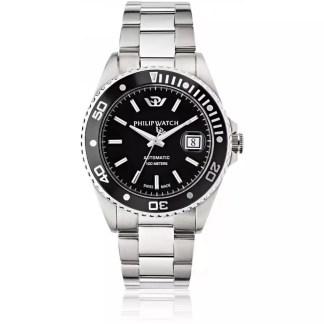 Orologio uomo acciaio acciaio zaffiro Caribe Philip Watch R8223597015