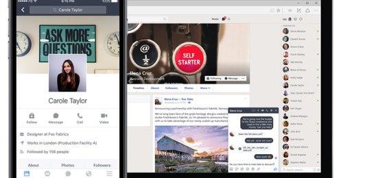 Facebook'un kurumsal çözümü: Workplace