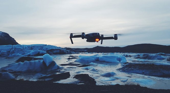 'Drone'lara özel otoyol