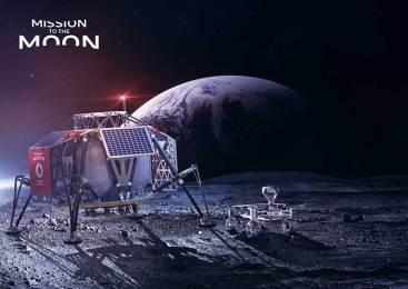 Ay yüzeyine 4G şebekesi Vodafone'dan