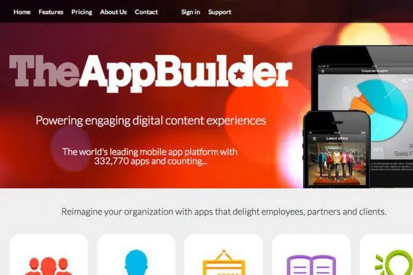 Mobile Application with The AppBuilder