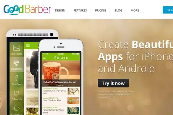 Mobile Application with GoodBarber