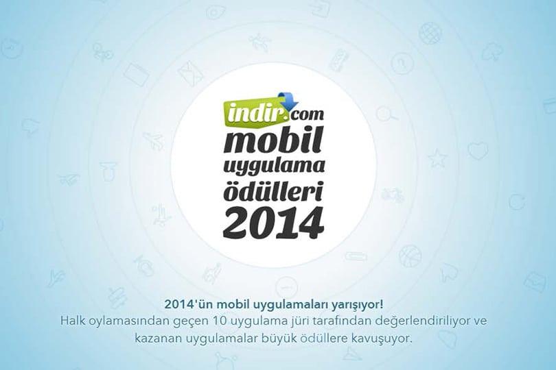 İndir.com Mobil Uygulama Ödülleri 2014