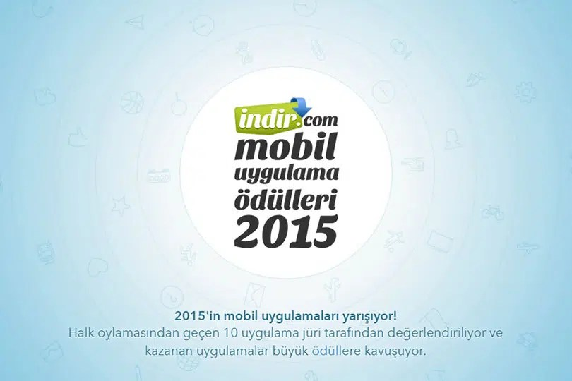 İndir.com Mobil Uygulama Ödülleri 2015