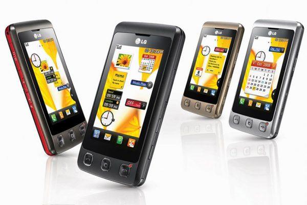 Telefon Modelleri - LG KP500