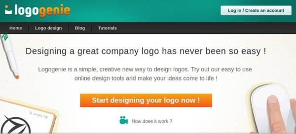 LogoGenie ile Logo oluşturma