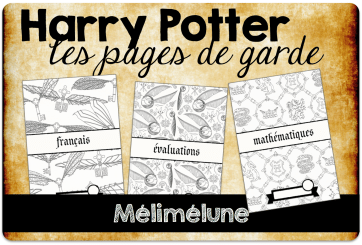 pages de garde Harry Potter