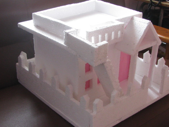 Thermocol house model images