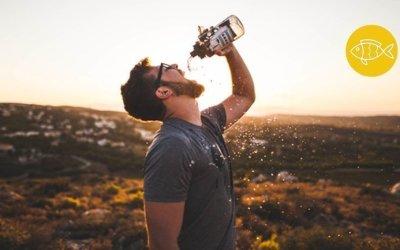 Zoveel water drinken, is dat nu wel verstandig?