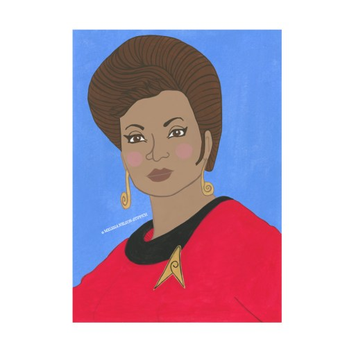 Uhura Print
